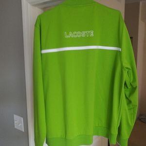 Lacoste zip up jacket